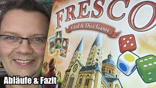 Fresco - Kartenspiel und Würfelspiel in einer Box (Queen Games) - ab 10 Jahren