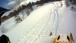Ski Doo Mxz X 600 Carving Dropsand Small Jumps