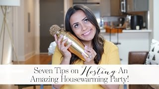 Seven Tips On Hosting An Amazing Housewarming Party!