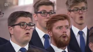 "Windsbacher Knabenchor singt von Felix Mendelssohn Bartholdy ""Jauchzet dem Herrn alle Welt"""