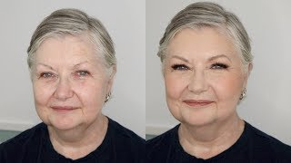 Mother of the Bride Makeup Application - Brown Smokey Eye