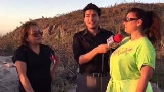 El cerro de La Calavera La Paz BCS