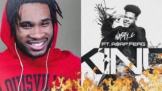 NASTY C   KING FT A$AP FERG | REACTION VIDEO