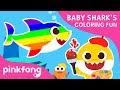 Baby Shark 39 s Coloring Fun Baby Shark Coloring Book T