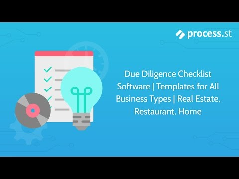 Due Diligence Checklist Restaurant AL