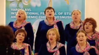 Академический хор Дома учителя, Штраус «Весна», 20 июня 2016 г.