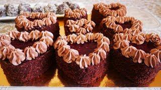 ВКУСНЕЙШЕЕ и НЕЖНЕЙШЕЕ шоколадное пирожное на КЕФИРЕ ко Дню Влюбленных