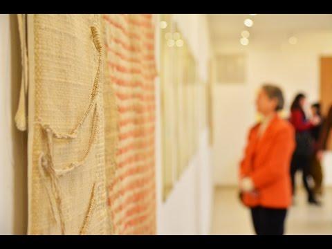 Solti Gizella kiállítása a Józsefvárosi Galériában. Készítette: Szirmai Norbert. JÓZSEFVÁROS VIDEÓ, 2017