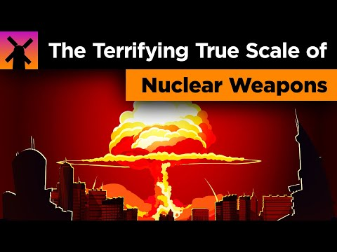 The Terrifying True Scale of Nuclear Weapons