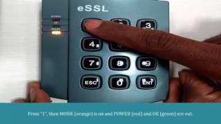 eSSL Plock 2 - Private Parking Installation - hmong video
