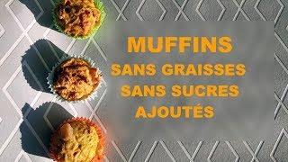 Muffins sans graisses ni sucres
