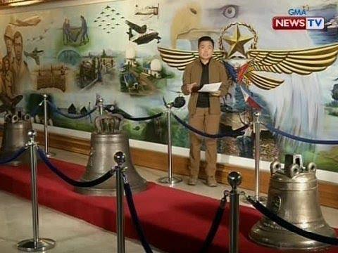 QRT: Public viewing sa Balangiga Bells sa Air Force Museum: Dec. 11-13, 8am-10pm