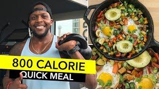 800 Calorie Healthy Breakfast / Desayuno Saludable de 800 Calorías
