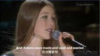 I Dreamed A Dream - 悲慘世界 主題曲 Hayley Westenra (HD)
