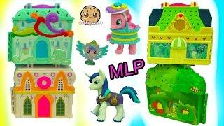 Shining Armor, Princess Twilight Sparkle & Baby Flurry Heart Visit My Little Pony Playsets