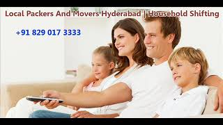 Local Movers and Packers Hyderabad Charges