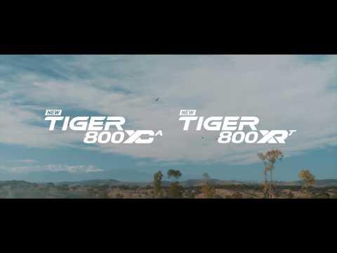 New Tiger 800 XC & XR Range 2018