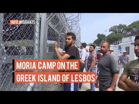 More than 7,000 people are living in Moria camp, which is three times its capacity