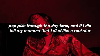 Chase Atlantic   Like A Rockstar  Lyrics