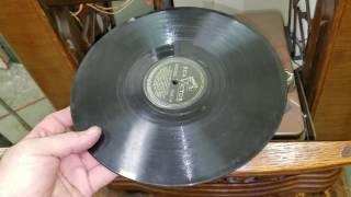 PHILCO 46-1209 RADIO & RECORD PLAYER CONSOLE DEMO - Part 1 of 2