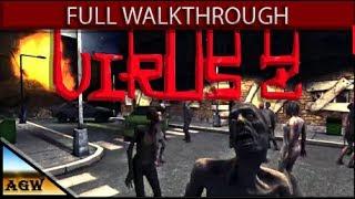 Virus Z Full Game Walkthrough Gameplay & Ending (No Commentary) (Action, Adventure, Indie)