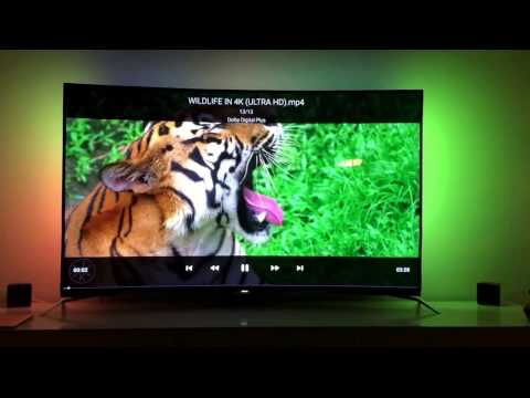 Philips 65PUS8700 Curved test