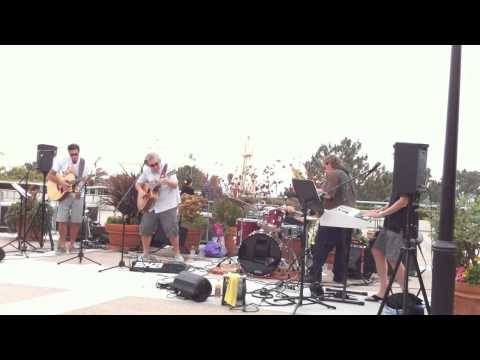 Giant Peach Band at Del Mar Plaza, Del Mar CA