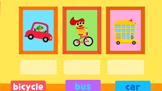 Kids Play and Learn to Match WORDS with PICTURES