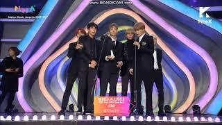 171202 BTS WIN BEST MUSIC VIDEO AWARD @ 2017 Melon Music Award