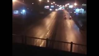 Видео пассажиров поезда, который столкнулся с электричкой на кутузовском