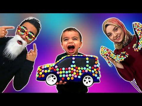 Yağız Şekerli Araba Aldı - Eğlenceli Çocuk Videosu YED SHOW