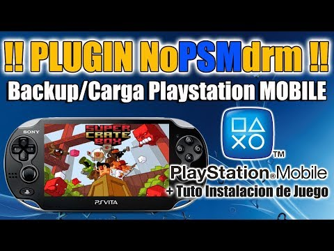 Plugin NopsmDRM PSvita - Juegos PSMobile en PSVITA