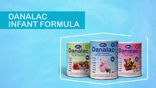 DANALAC  Infant Formula in three Stages - Formulas for Babies when breastfeeding is not possible