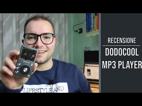 Dodocool Lettore MP3 Hi-Fi 8 GB: la recensione
