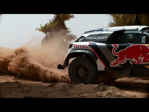 Peugeot 3008DKR Maxi - Best Of Testing Action 2017