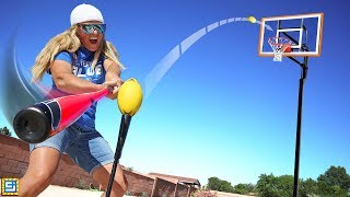 BEST TRICK SHOT WINS $10000! Impossible All Sports!
