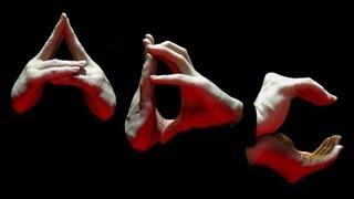 ALPHABET Finger Dance [ UpperCase ] ABC Finger Font Performance [finger Tutting]