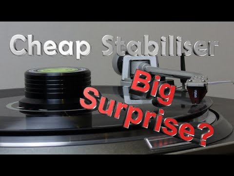Turntable Acessory: Record Stabiliser Review