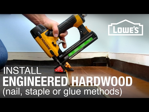 Engineered Hardwood Floor Installation: Part 2