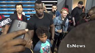[WOW] Disrespectful Lil KId Spits At Floyd Mayweather EsNews Boxing
