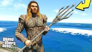 someone developed an insane Aquaman mod for GTA 5..