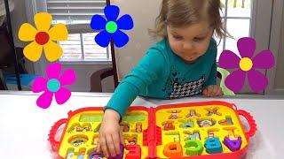 Genevieve Helps Teach Kids their ABC's