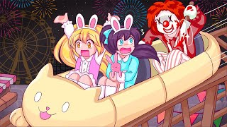 We Went To The Wrong Amusement Park! (Roblox Story)