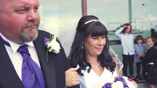 Heartwarming Shetland wedding - John and Susan family wedding 12.08.17