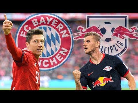 DUELO DE LÍDERES! Acompanhe o pré-jogo entre Bayern De Munique x RB Leipzig