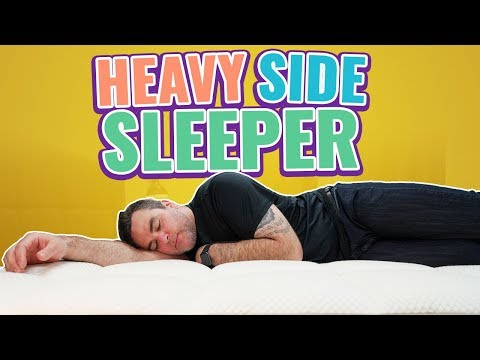 Best Mattress for Heavy, Obese & Overweight Side Sleepers (2019 LIST)