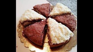 Gateau Chocolat Farci Noix De Coco Facile قاطو شوكولا محشي بجوز الهند سهل و لذيذ