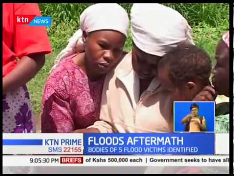 Bodies of five of the seven people who drowned in Kinangop have been identified