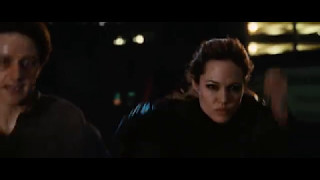 Angelina Jolie in Wanted 2008 | crazy competition (movie scene 6|9)