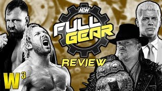 AEW Full Gear Review | Wrestling With Wregret